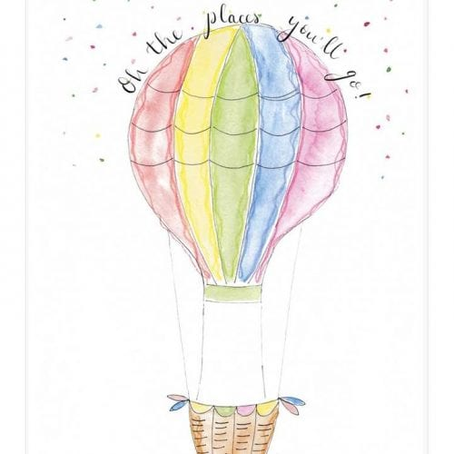 watercolour _illustration_of_hot_air_balloon_with_Caption_Oh_the_places_you'll_go