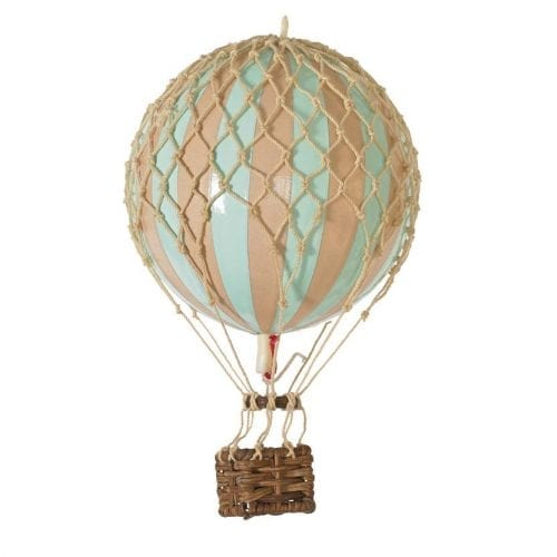 Authentic Models Small mint coloured hot air balloon