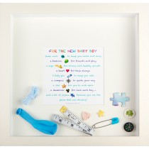 3d wall art gift for new baby boy