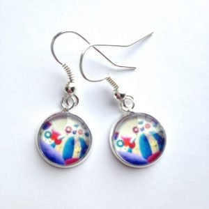 Blooming Meadows drop floral earrings