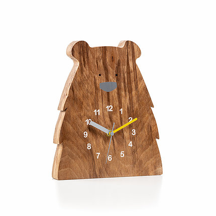 handmade_wooden_clock_in_shape_of_grizzly_bear