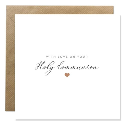 with love on your holy communion