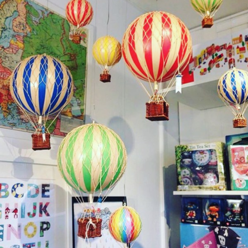 Decorative Hot Air Balloons in Various colours and sizes
